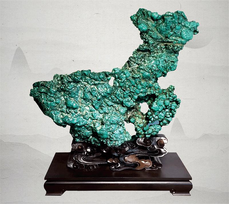 江山多娇(绿松石)