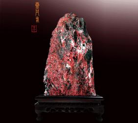 贵州朱砂石