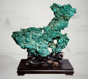 六盘水江山多娇(绿松石)